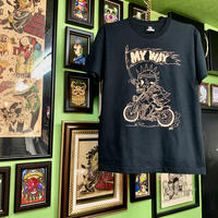 My way T-shirt  Black