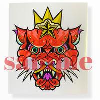 2nd design Panther sticker