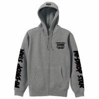 zombie cat zip hoodie 4colors