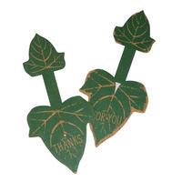 TAGGED GIFT TIE Leaf C