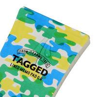 TAGGED MEMO PAD 迷彩04(L)