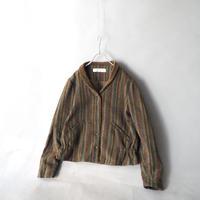 wool short jacket/ladies'