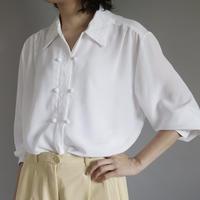 ladies' china design white blouse