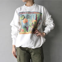 made in Mexico colorful fish sweat/unisex