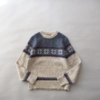 nordic knit sweater/ladies'