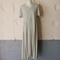 small checked dress made in USA