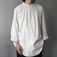 no collar pullover shirt
