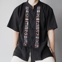 nice embroidery china shirt/unisex
