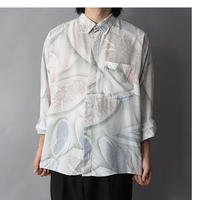 like a space or origin of life pattern shirt /unisex