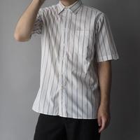 60s Christian Dior stripe shirt/unisex
