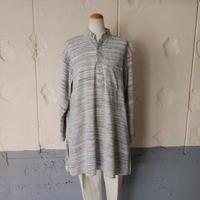 【HIBIWA no HEYAGI】linen grandpa shirt made in India