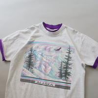 made in USA layered print  T-shirt/unisex