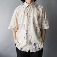 artistic pattern shirt