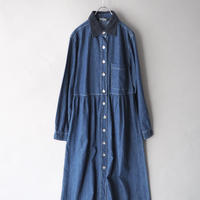 100%cotton soft denim dress