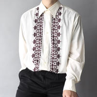 made in Germany embroidery dress shirt/unisex