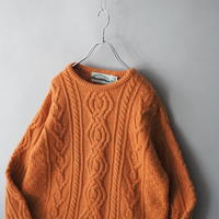Ireland fisherman's knit sweater