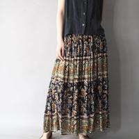 100% Indian cotton long skirt