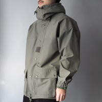 90s French military GORE-TEX foodie double zip-upjacket/unisex