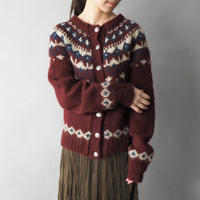vintage sweater makers hand knit cardigan