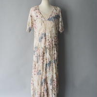 made in India lace maxi dress
