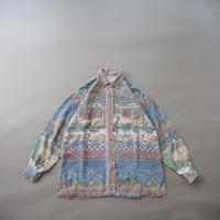 Euro  oriental pattern shirt