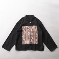 folklore stand collar shirt jacket/unisex