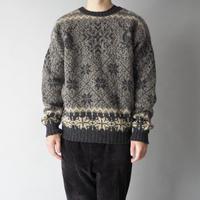 90s woolrich nordic knit sweater/unisex