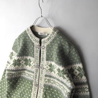Tyrol nordic design knit cardigan/for ladies'