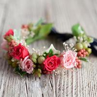 花かんむり Sweet(スウィート)プリザーブドフラワー&アーティフィシャル
