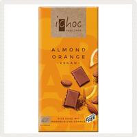 iChocオーガニックチョコレートアーモンドオレンジ
