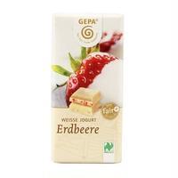 ビオ ストロベリーホワイトチョコレート 40g【フェアトレード,乳化剤不使用】
