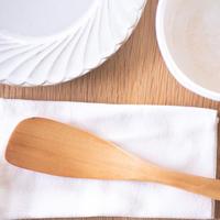 ツゲ材 調理用木べら  Sサイズ・左手用(左利き用)