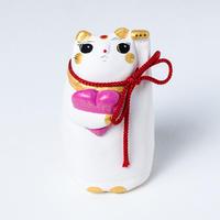 良縁猫(桃) - Ryo en neko
