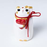 良縁猫(赤) - Ryo en neko