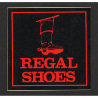 REGAL SHOESのロゴシール