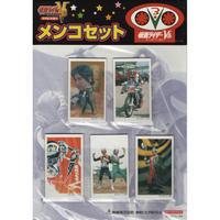 仮面ライダーV3 DVDボックス / 発売記念 角めんこ5種セット 【新品・非売品】