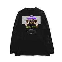 HIGH GRADE LONG SLEEVE T-SHIRTS「mr.dogman」BLACK/M/L/XL