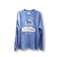 ロンT「おじさん」BLUE/M/L/XL