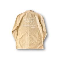 オープンカラービッグアウターシャツ BEIGE / L / XL