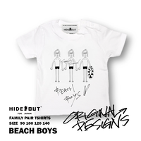 「BEACH BOYS」Tシャツ/KIDS/90/100/120/140