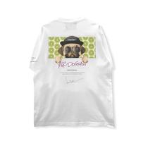 HIGH GRADE T-SHIRTS「mr.dogman」WHITE/M/L/XL