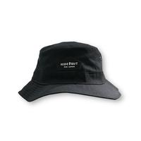 WAPPEN LOGO BACKET HAT / FREE / BLACK