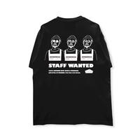 HIGH GRADE T-SHIRTS「cafe dining BOMBERMAN -3men」BLACK/M/L/XL