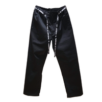 TC TWILL EASY PANTS / BLACK / M / L / XL