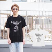 「CALIFORNIA」Tシャツ/UNISEX/WM/S/M/L/XL