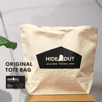 トートバック「hideout logo」