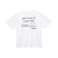 1ポケ/ビッグシルエットTシャツ「MOST」 WHITE / M / L