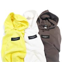ボックスロゴワッペンパーカー white/yellow/charcoal/M/L/XL