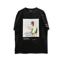 HIGH GRADE T-SHIRTS「SMOKE GIRL」 BLACK/M/L/XL