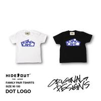 「DOT LOGO」Tシャツ/KIDS/90/100